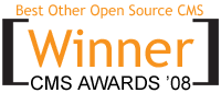 "Best ""Other"" Open Source CMS 2008: Plone!"