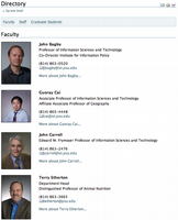 Faculty/Staff Directory 2.1
